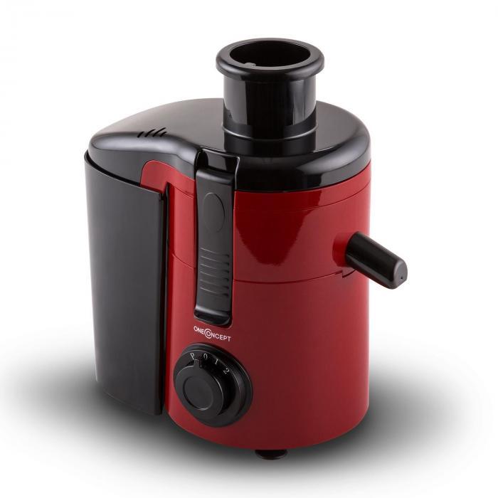 Juice Ninja Centrifugeuse extracteur de jus 250W 11.000 tours/min -rouge