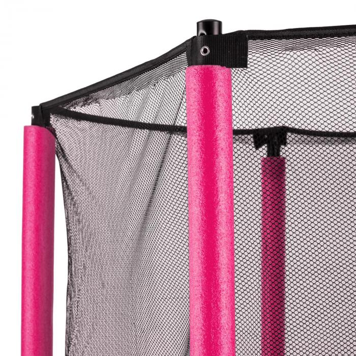 rocketkid trampolin 140cm sicherheitsnetz innen. Black Bedroom Furniture Sets. Home Design Ideas