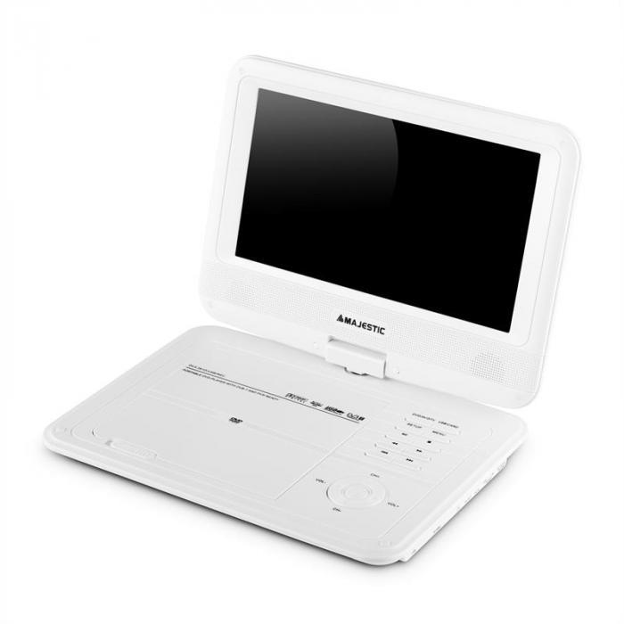 DVX 261D Lettore DVD Portatile DVB-T USB Bianco