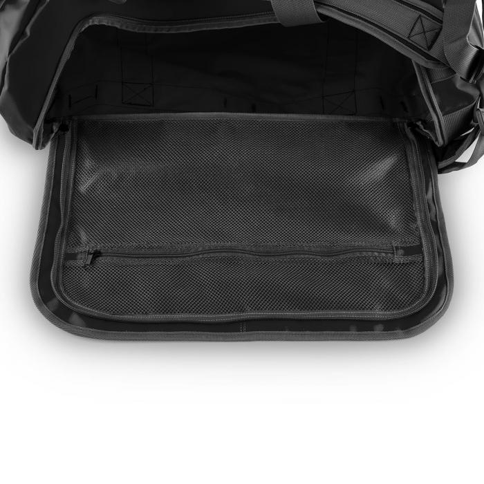 Travel M urheilukassi 60l Duffel reppu vedenkestävä musta