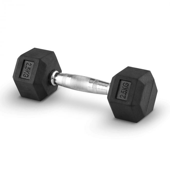 Hexbell 2,5 Dumbbell Korte Halter Paar 2,5 kg