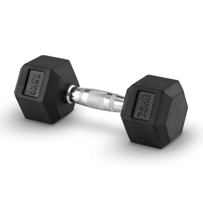 Hexbell Dumbbell Kurzhantel Paar 2x7,5kg