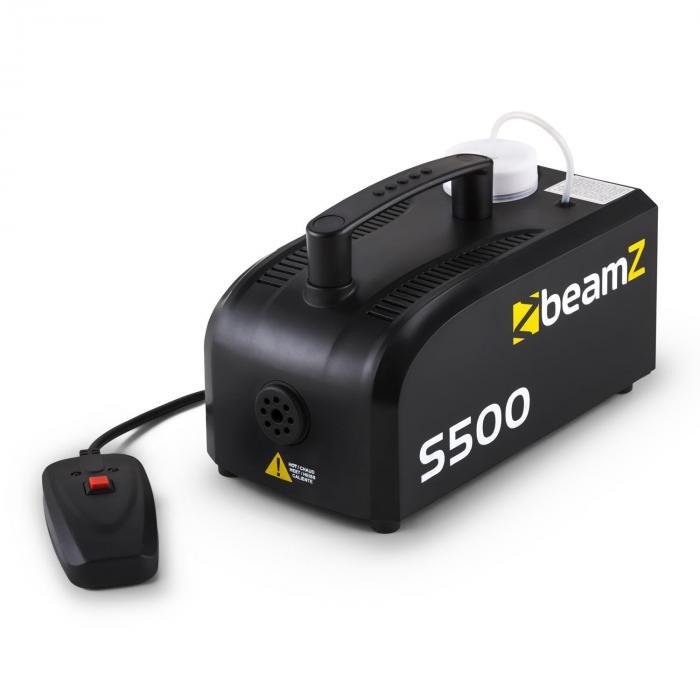 S500 New Edition 500W Fog Machine 50m³ with 250ml Fog Fluid