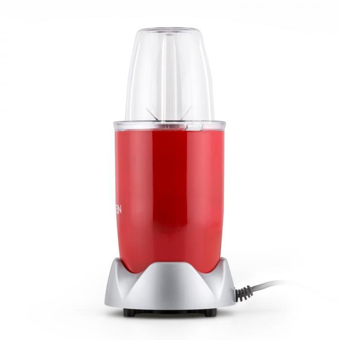 NutriRocket Mixer Smoothie Maker Multifunzione 10pz.700W rosso