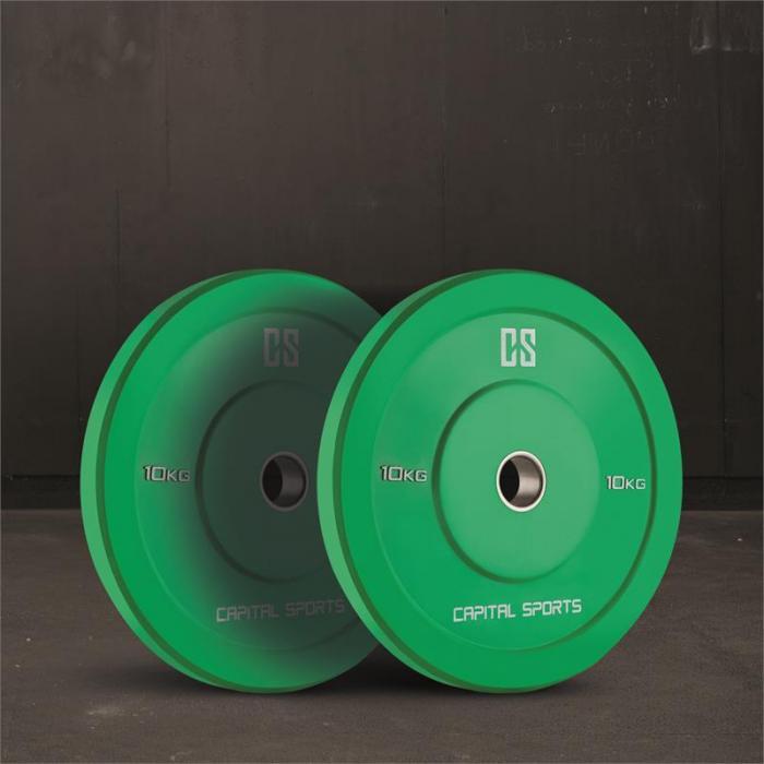 Nipton Mens Set II olympiatason tanko levypainot 3 paria 5, 10 & 20 kg