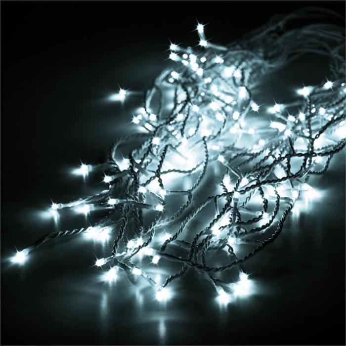 Dreamhouse Flash Christmas String Lights 16m 320 LED Cold White Flash Motion
