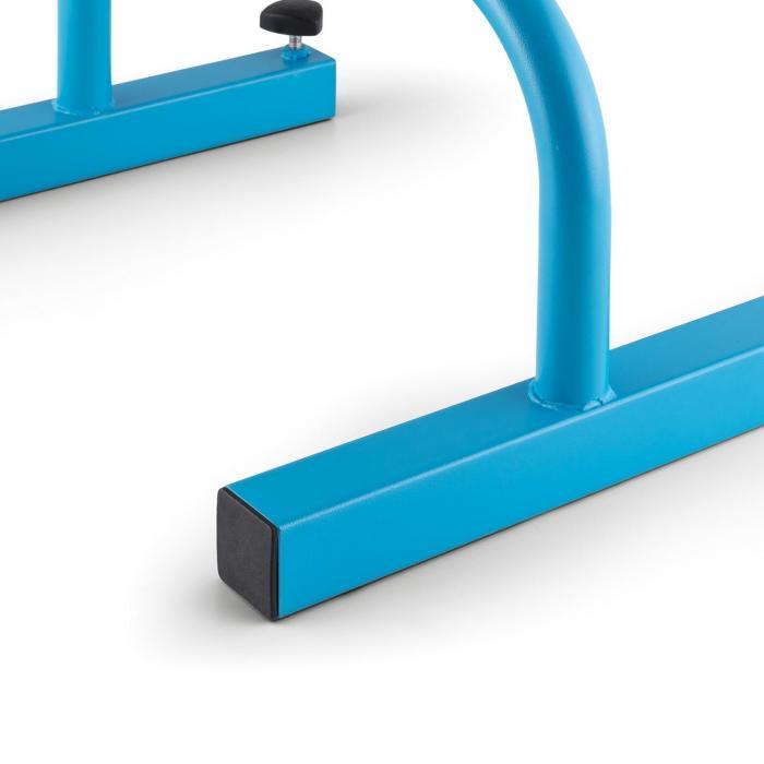 Paralo Poręcze do ćwiczeń gimnastycznych Para stalowe niebieskie