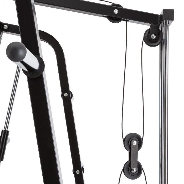 Squatster Squat Rack zwart staal