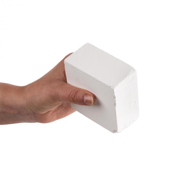 Pridium 8 Blocchi Gesso Palestra Bianco