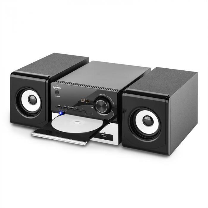 CH11CD-BTH audiojärjestelmä bluetooth CD USB SD MP3 FM AUX kaukosäädin