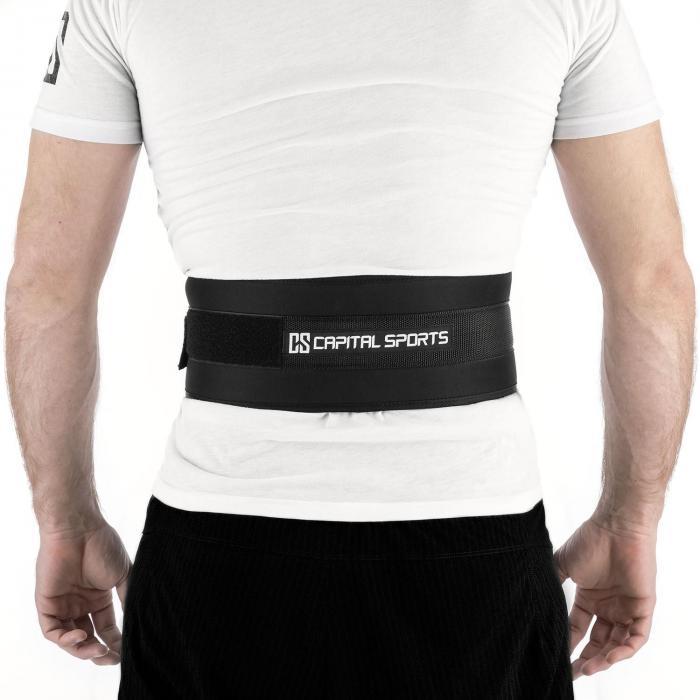 Rugg cinturón de entrenamiento con velcro ultraligero Talla: L negro
