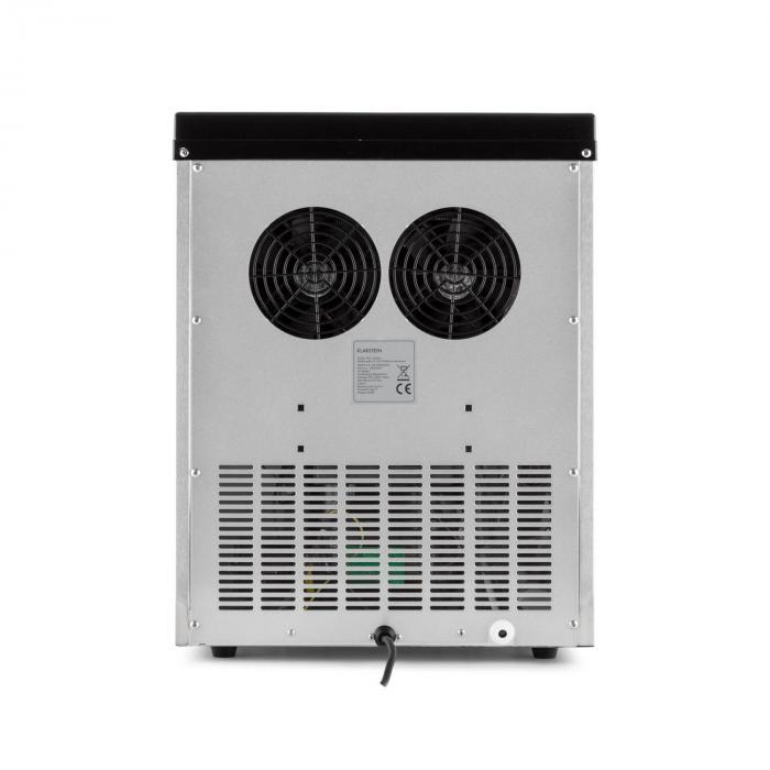 Powericer ECO 3 Macchina Per Ghiaccio 450W 30kg/giorno Acciaio