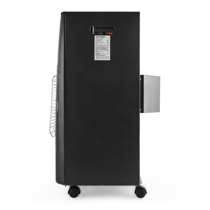 Kamtschatka kaasulämmitin keraaminen poltin infrapuna 4,1 kW musta