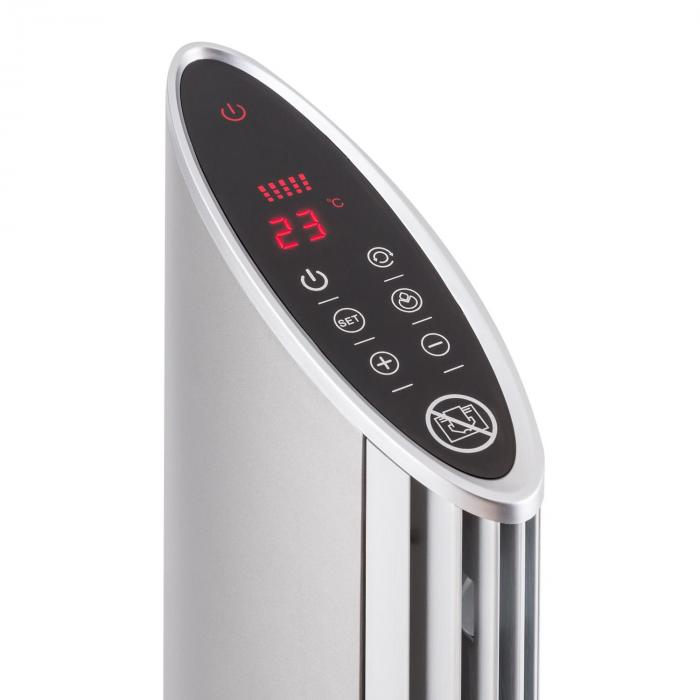 Skyscraper Heat Ceramic Heater Oscillation Timer 1600 / 2500W