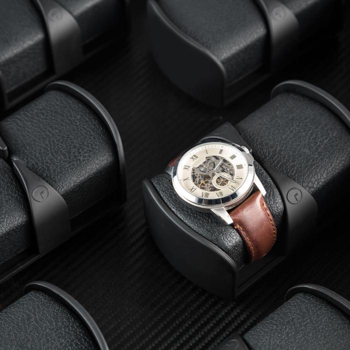 Klingenthal horlogeopwinder rechts-links 12 horloges - handgemaakt