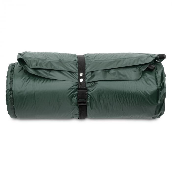 Goodbreak 3 slaapmat dubbele luchtmatras 3cm dik hoofdkussen groen