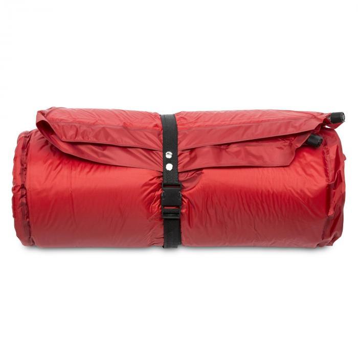 Goodbreak 10 slaapmat dubbele luchtmatras 10cm dik hoofdkussen rood