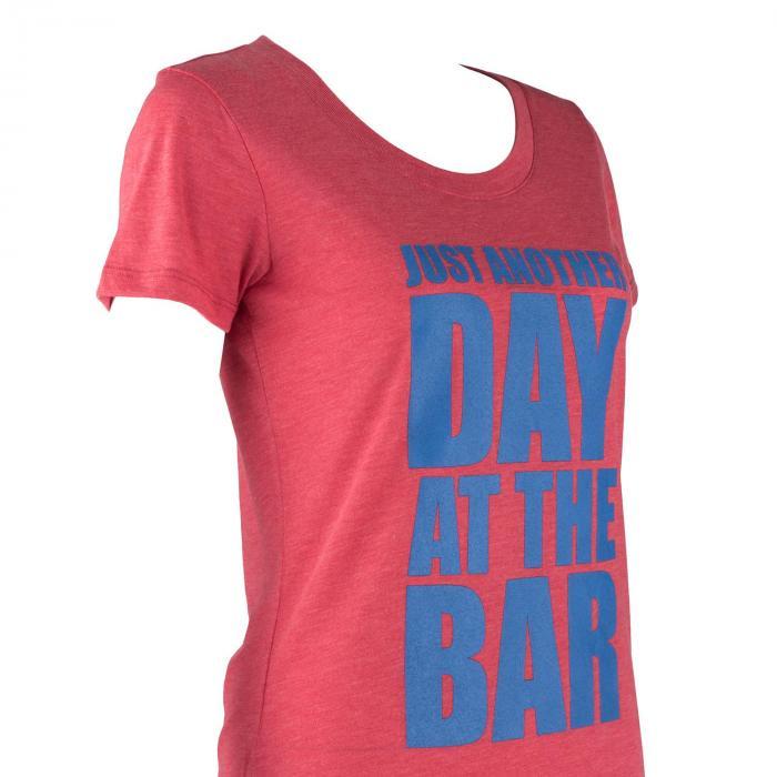 Trainings-T-Shirt für Frauen Size S Rot