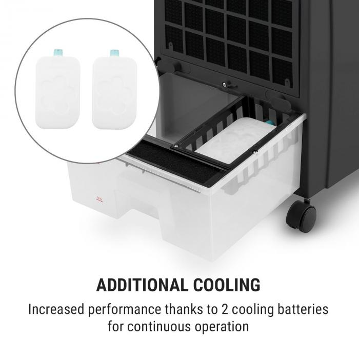 CTR-1 Air Cooler 4-in-1 Fan Mobile 65 W Remote Control Black