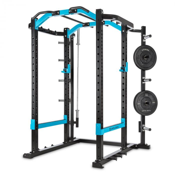 Amazor P Rack Monkey Bar Safety Spotter J-Cups Acciaio