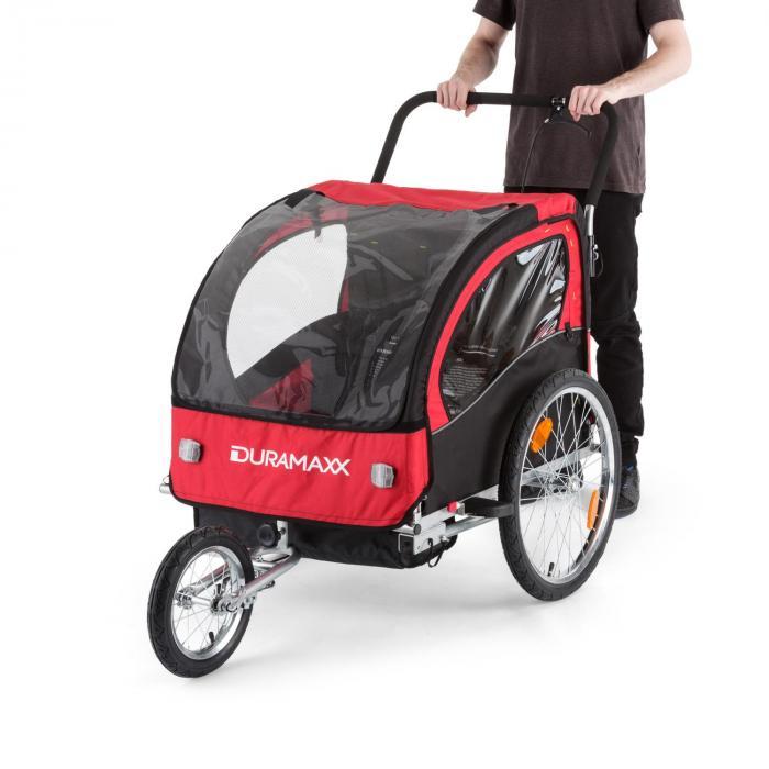 Trailer Swift Rimorchio da bici per Bambini Babytrailer 2 sedute max. 2