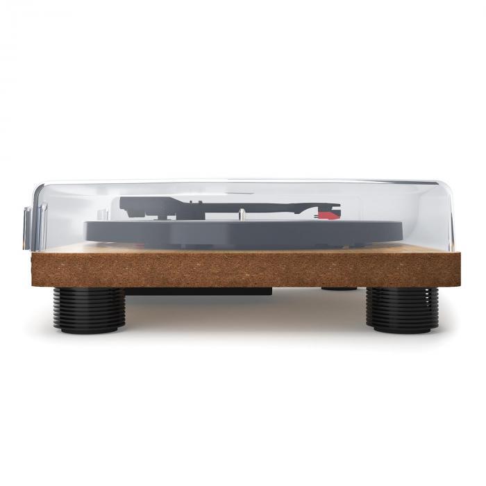 TT Classic WD Giradischi Retrò USB Line-Out Impiallacciatura In Legno
