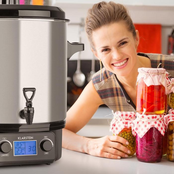 Biggie Digital keittämisautomaatti haudutuspata 27 litraa 2000 W teräs