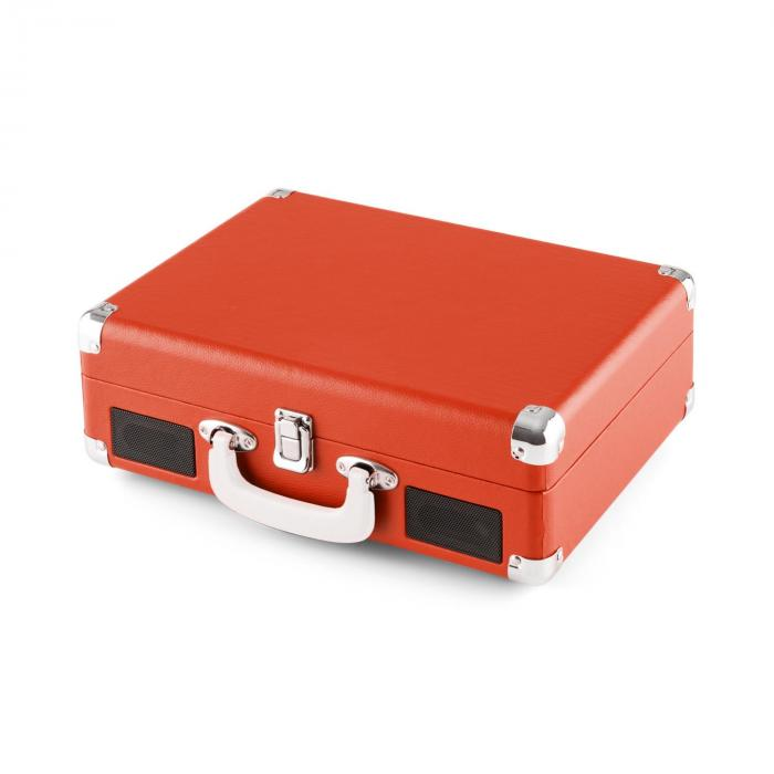 Peggy Sue Red Giradischi Retrò LP USB Arancio Scuro