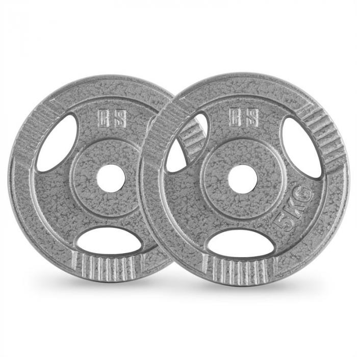 IP3H 15 kg levypainosetti 2 x 2,5 kg + 2 x 5 kg 30 mm