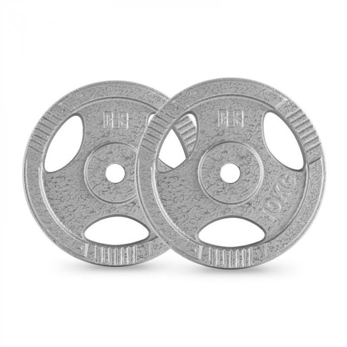 IP3H 30 kg levypainosetti 4 x 2,5 kg + 2 x 10 kg 30 mm