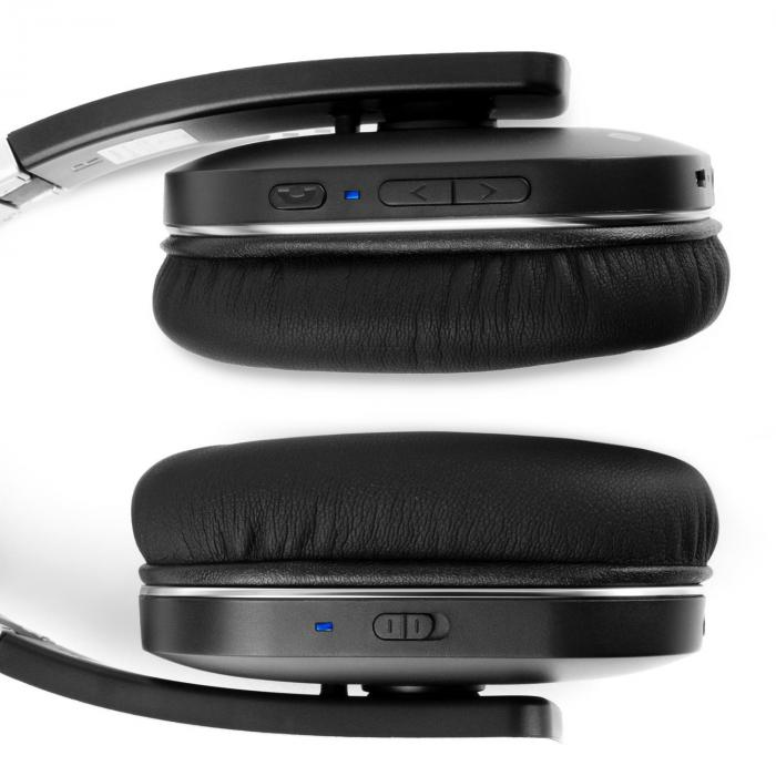 auna elegance anc bluetooth casque audio antibruit nfc
