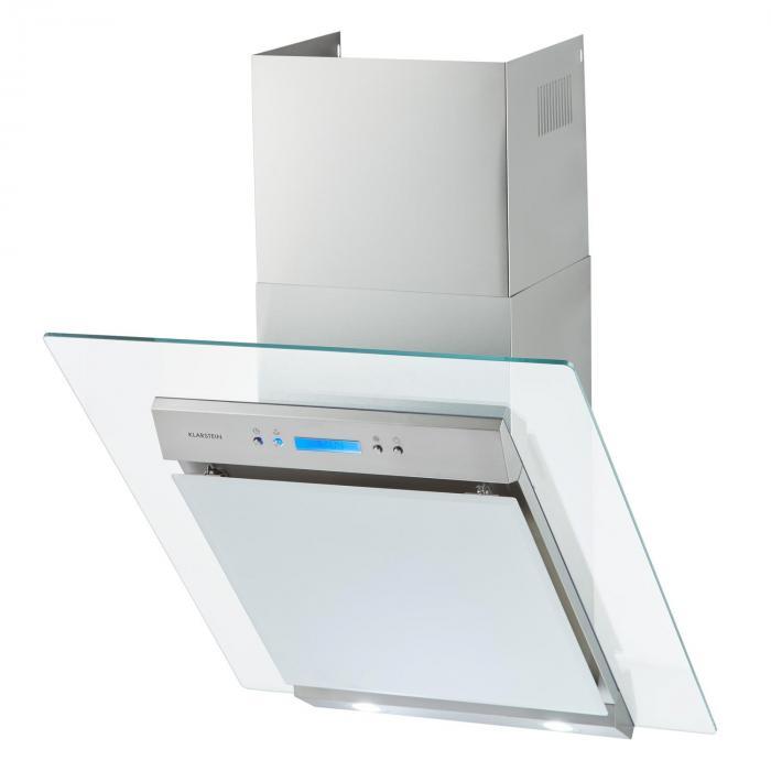 Skycook liesituuletin 60 cm 640 m³/h luokka A ruostumatonta terästä lasia