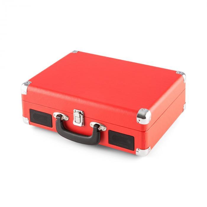 Peggy Sue retro-levysoitin LP USB punainen