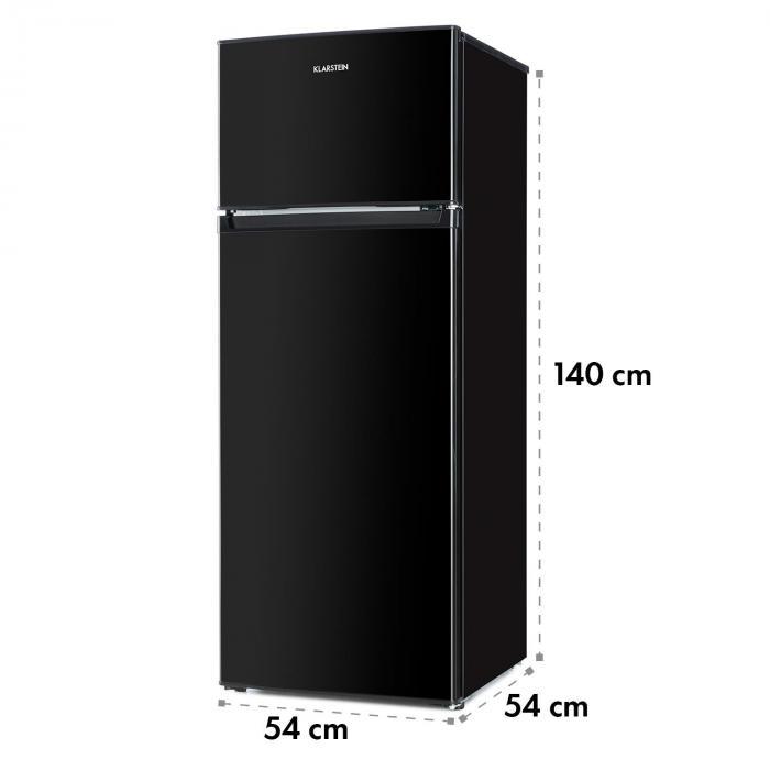 Height Cool Black Frigorifero Freezer Combi A++ Nero