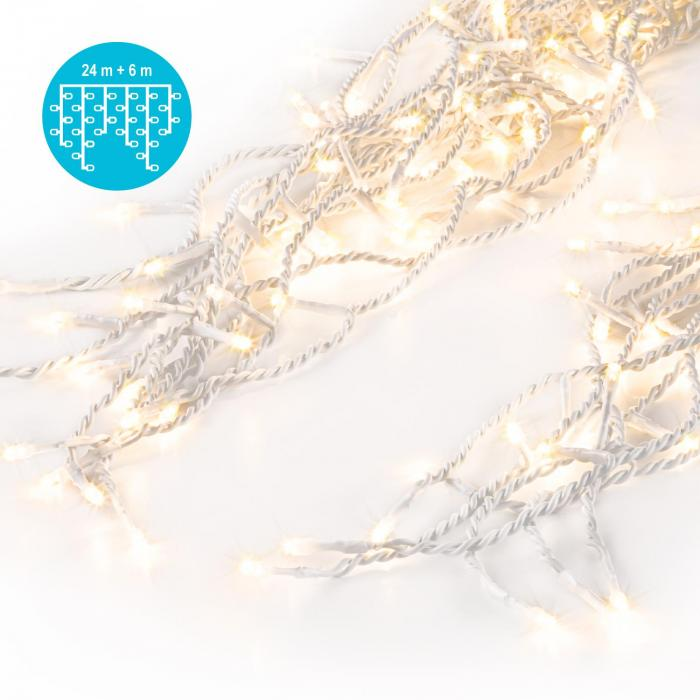 Dreamhouse Classic LED Christmas lights Icicles 24m 480 LEDs warm-white