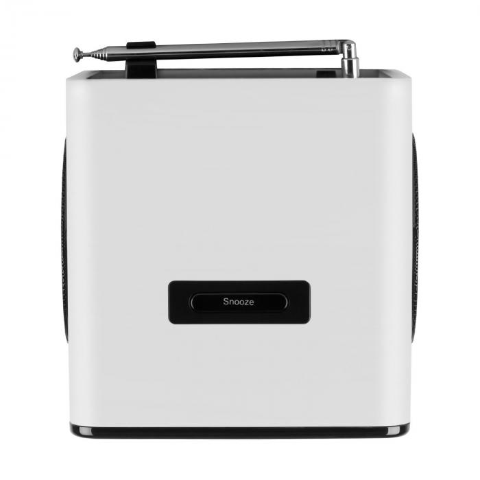 Radio Gaga Internet Radio WLAN/LAN DAB/DAB+ OUC USB AUX Bianco