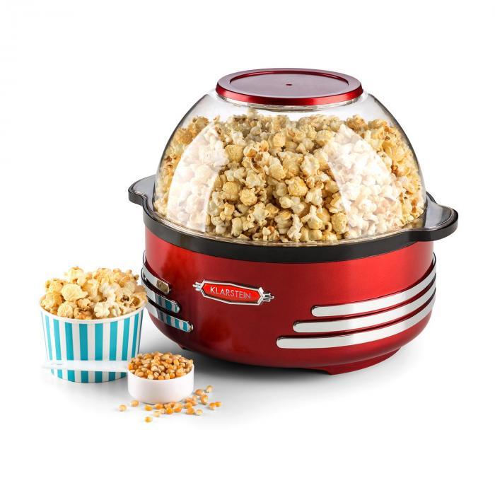 Couchpotato Popcornmaschine elektrischer Popcorn-Bereiter rot
