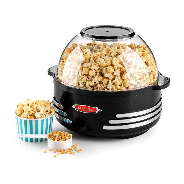 Couchpotato Macchina per Popcorn Popcorn Maker elettrico nero