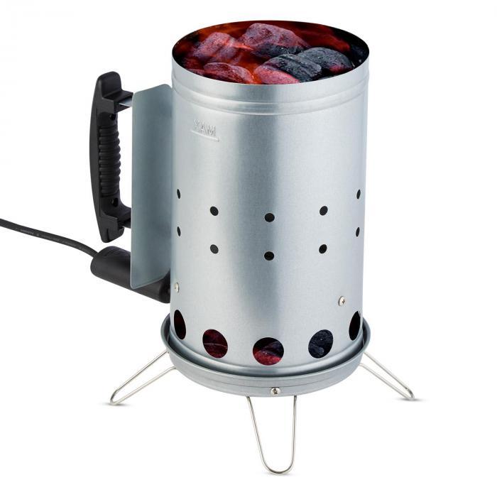 Beefbutler setti hiiligrilli BBQ Smoker + elektroninen sytytin 350W