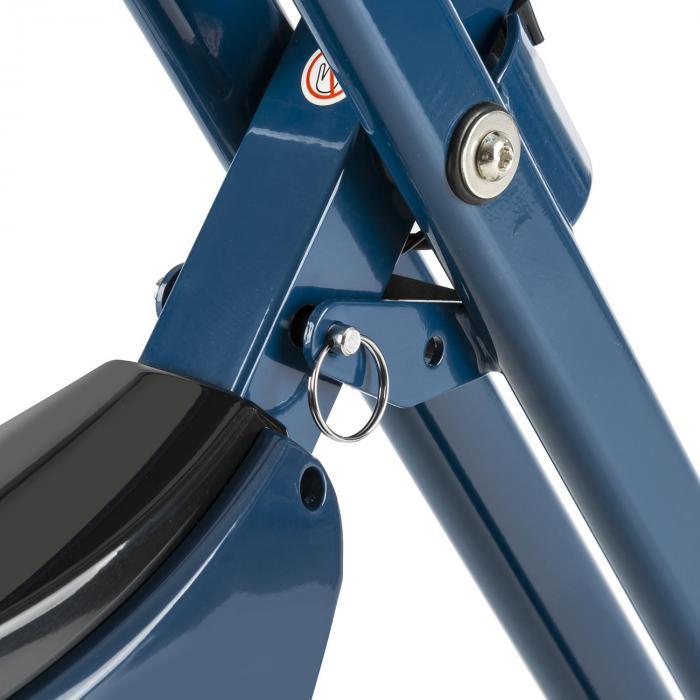 Azura Pro X-Bike kotitreenauslaite max 100 kg pulssimittari taitettava 3 kg sininen