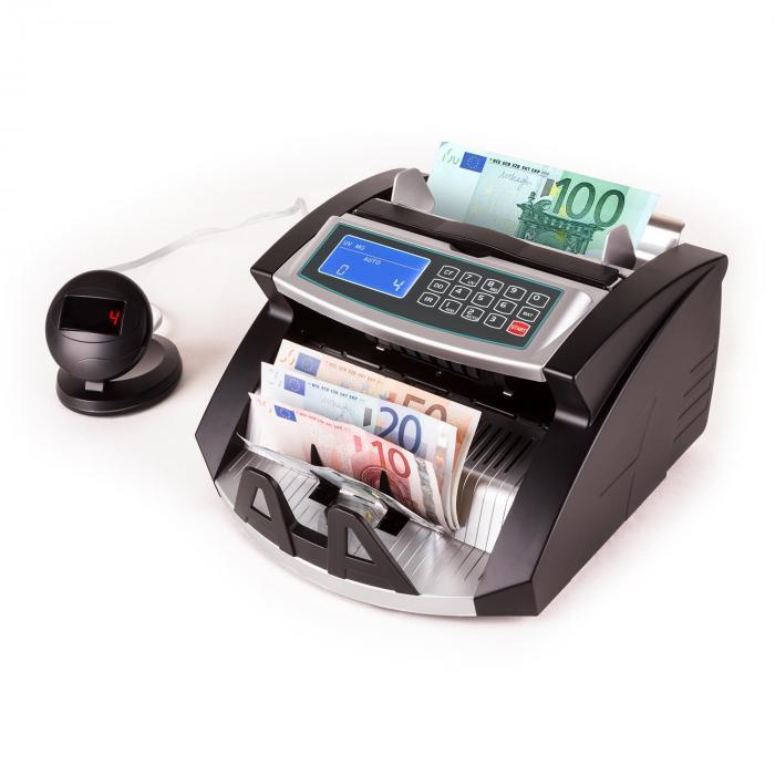Buffett setelilaskuri UV, magneetti, IR -tunnistus