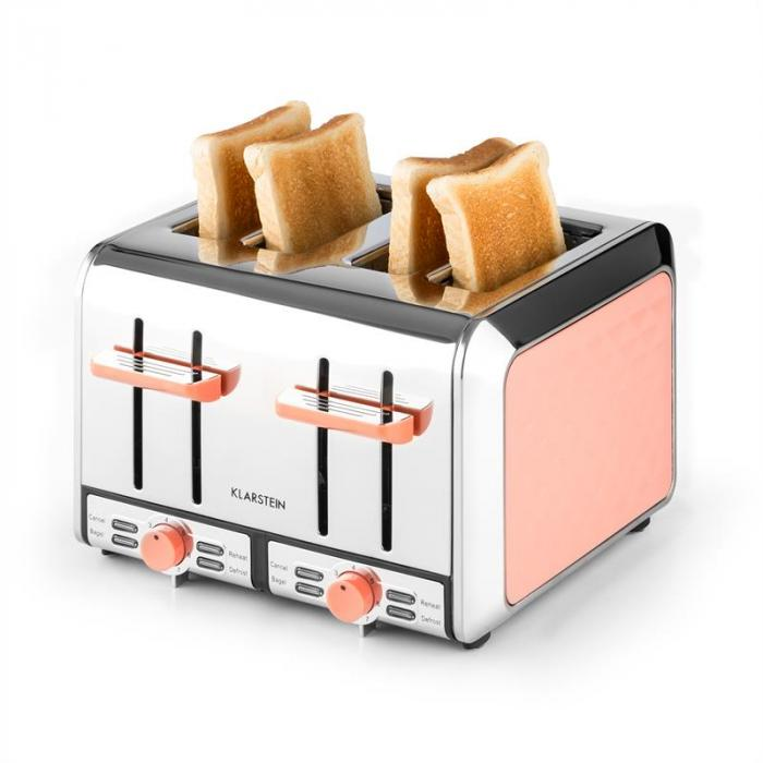 curacao coral toaster 4 scheiben edelstahl 1500 watt koralle online kaufen elektronik star de. Black Bedroom Furniture Sets. Home Design Ideas