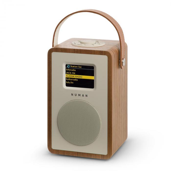 Mini Two Radio Internet di Design WIFI DLNA Bluetooth DAB/DAB+ VHF noce