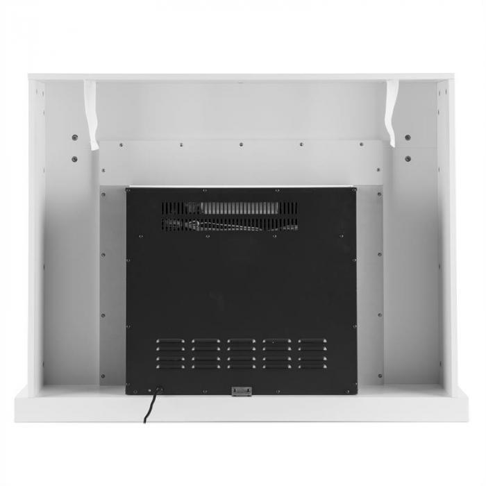 Blanca sähkötakka LED-liekkisimulaatio 750/1500 W 40 m² w valkoinen