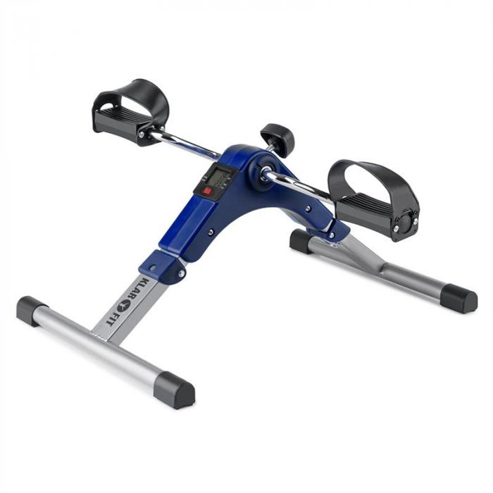 Continus Pro Mini Bike Arm- und Bein-Pedaltrainer Display faltbar blau
