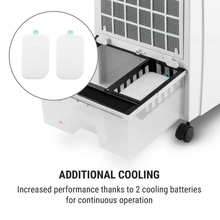 CTR-1 Heat Mobile 4-in-1 Cooling and Heating Air Cooler 2000 W White