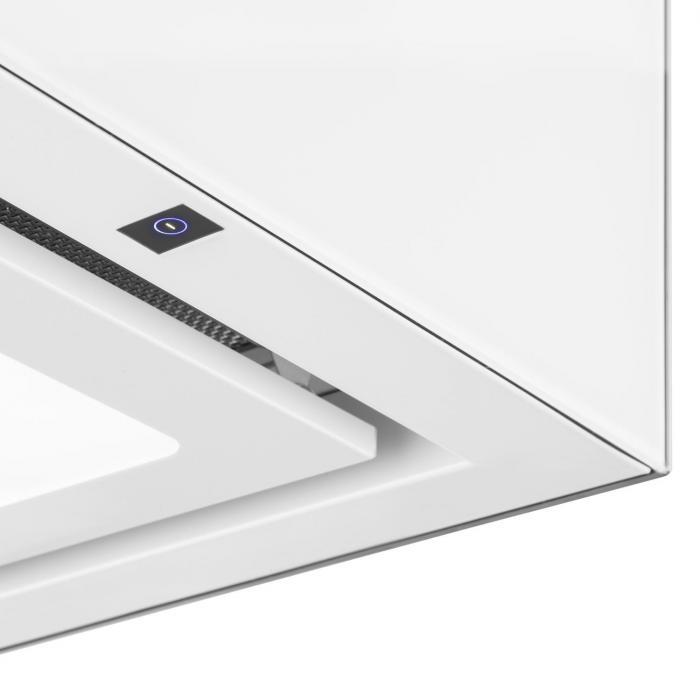 Kattokruunu-liesituuletin kattomalli valkoinen