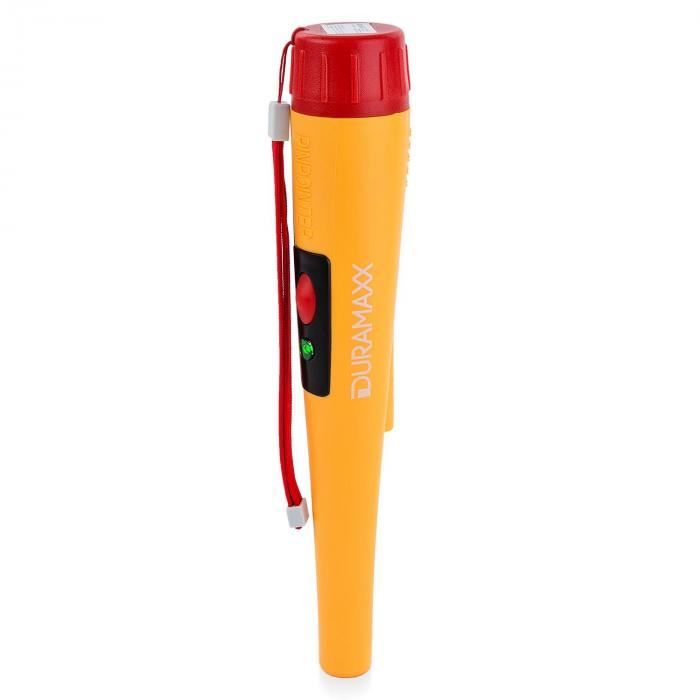 Powerpoint Metal Detector Pinpointer Digitale LED Impermeabile giallo