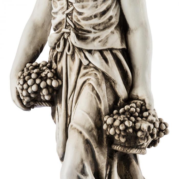 Ceres Scultura Statua Realizzata a Mano 1,2m Vetroresina MgO Ottica Alabastro