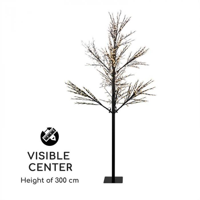 Hanami WW 300 Lichterbaum Kirschblüten 300cm 1080 LEDs warmweiß